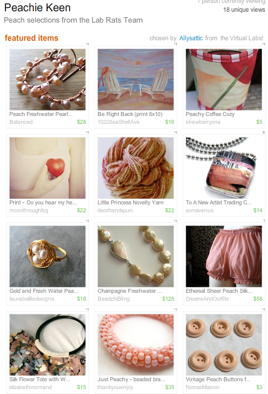 Etsy Treasury - Peachie Keen_1251372793616