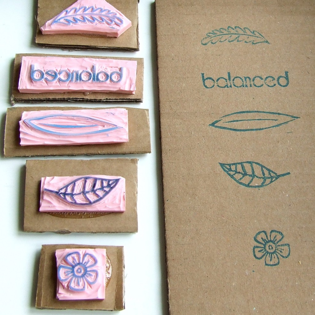 custom carved stamps
