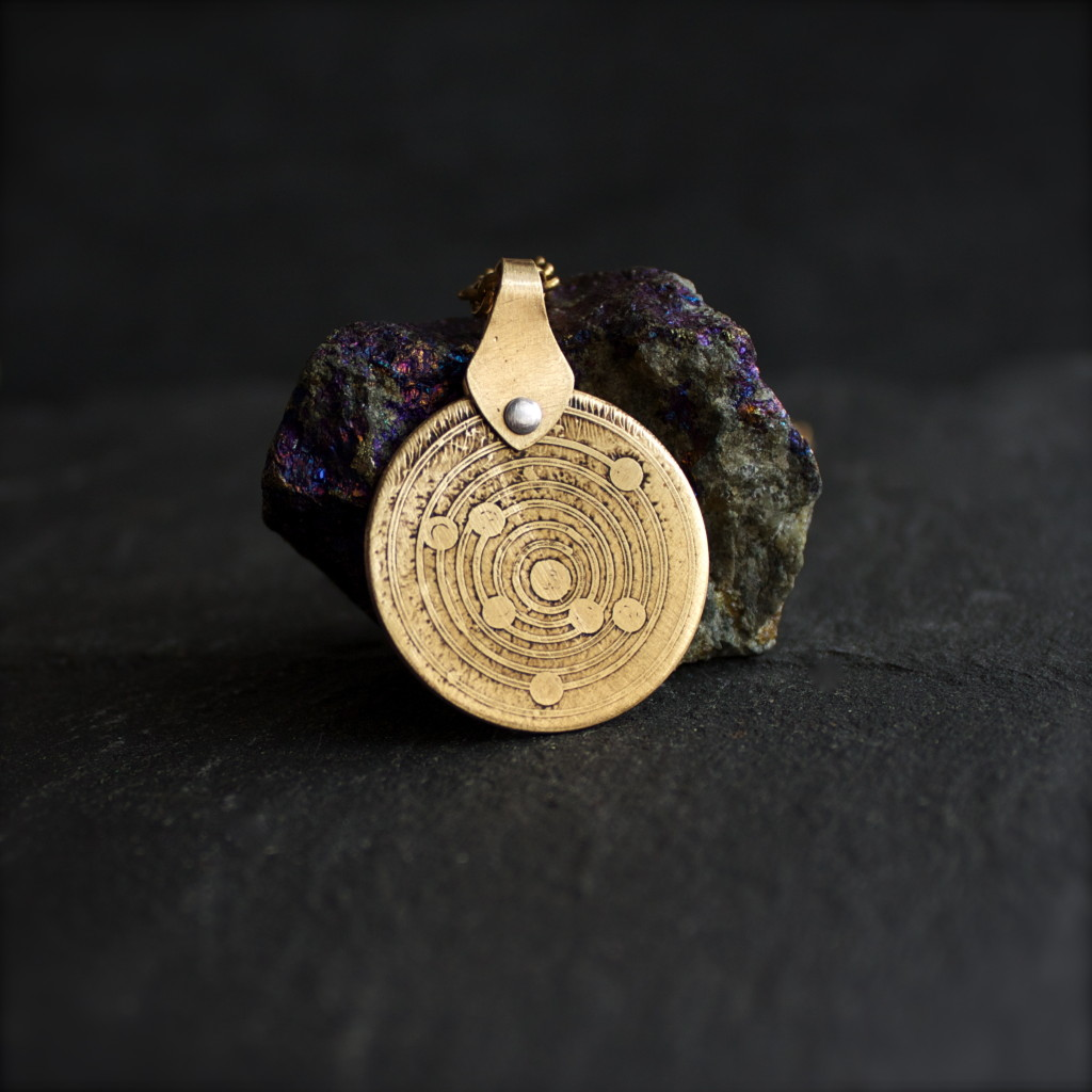 Heliocentric Model Necklace